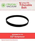 1 Durable Long-Life Vacuum Belt fits LG Kompressor LuV200R, LuV300B, LuV400T Vacuum Cleaner Belt Micro-V 5EPH271; Replaces LG Part # MAS61843401, MAS61842501
