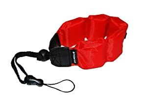 Schwimmende Polaroid Handschlaufe für wasserdichte Kameras, Camcorders, Gehäuse (rot)