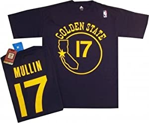 Golden State Warriors Chris Mullin Adidas 1985 Navy Throwback Shirt by adidas