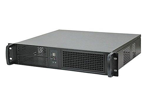 19″ chassis de serveur/ IPC-C238 / rack 2U / seulement 38cm de profondeur