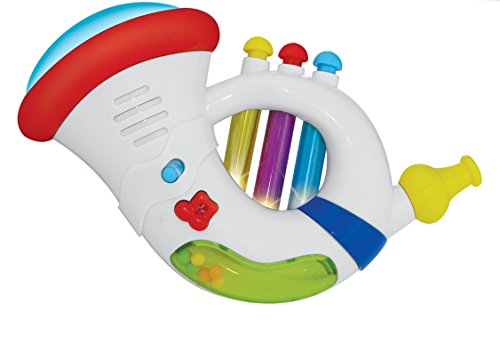 Baby Learning Electronics Musical Trumpet & Saxophone - 1