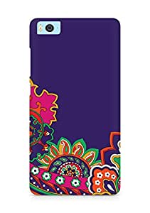 Amez designer printed 3d premium high quality back case cover for Xiaomi Mi5 (floral print )