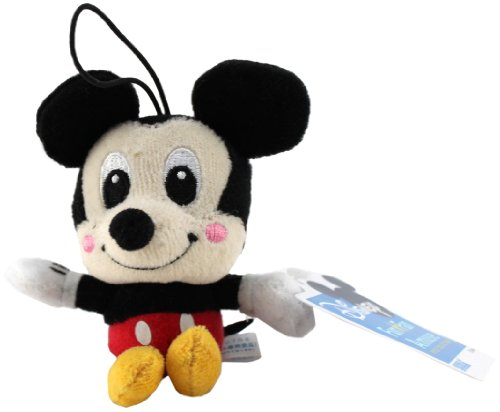 "Sega/Disney Prize Collection Plush Strap - 4"" - Mickey Mouse"