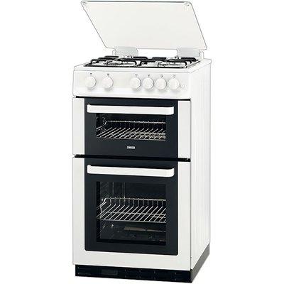Zanussi ZCG563FW Gas Cooker Free Standing White