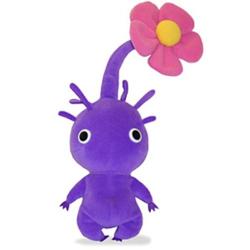 ピクミンぬいぐるみ 紫ピクミン花