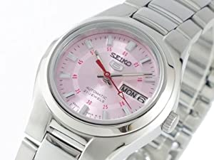 Women's Automatic Stainless Steel w/ Pink Dial