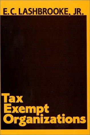 Tax Exempt Organizations.