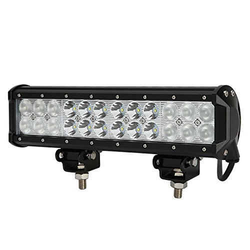 "12"" 72W Cree Led Light Bar 7200Lm Combo Beams 24Pcs 3W Cree Chips Waterproof For Jeep Off Road Van Camper Wagon Atv Awd Suv 4Wd 4X4 Pickup Van Off-Road"