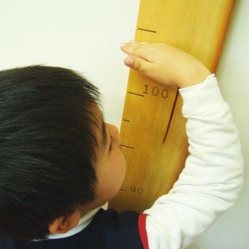 天然木 無垢材 身長計(180cmまで) せいくらべ 出産祝い 子供の日 ひな祭り 敬老の日