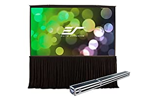 Elite Screens QuickStand 5-Second Series, 163-inch 4:3, Large Venue Portable Projection Screen, Model: QS163VD