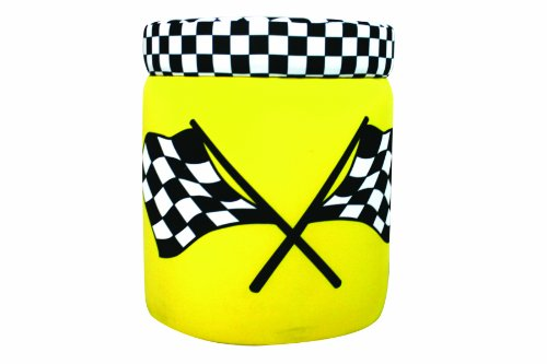 Harmony Kids Cars Racing Ottoman - Yellow
