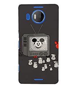 EPICCASE Mick Mouse(s) Mobile Back Case Cover For Microsoft Lumia 950 XL (Designer Case)