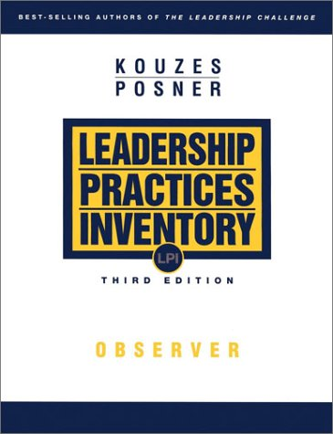 The Leadership Practices Inventory (LPI): Observer 3rd...