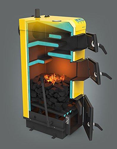 KSW alfa multicombustible carbón combustible sólido caldera de calefacción 18 kw quemador de carbón estufa
