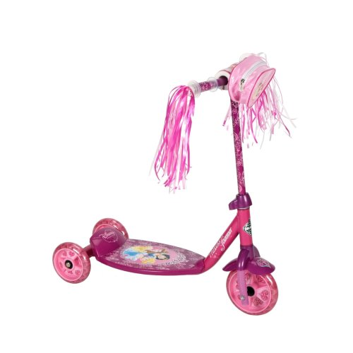 Huffy Disney Princess Scooter, Pink/Purple, 6-Inch