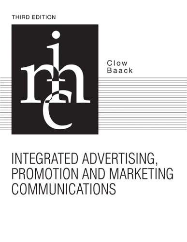 Integrated Advertising, Promotion, and Marketing