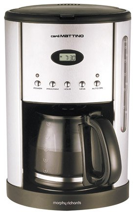 Morphy Richards Café Mattino Filter Coffee Maker 47070 from Morphy Richards