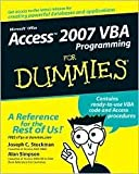 img - for Access 2007 VBA Programming For Dummies Publisher: For Dummies book / textbook / text book