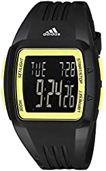 adidas Unisex ADP3171 Duramo Digital Display Analog Quartz Black Watch