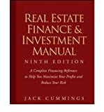 img - for By Jack Cummings Real Estate Finance and Investment Manual, 9 edition (9th Edition) book / textbook / text book
