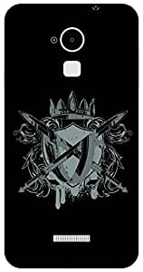 The Racoon Lean warrior crest hard plastic printed back case / cover for Coolpad Note 3