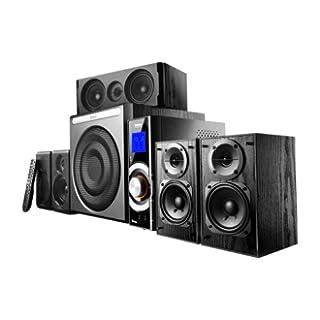 Edifier HCS5640 C6, 5.1-Soundsystem mit 5x 8W Satelliten und 1x 30W Subwoofer, inklusive Fernbedienung, schwarz