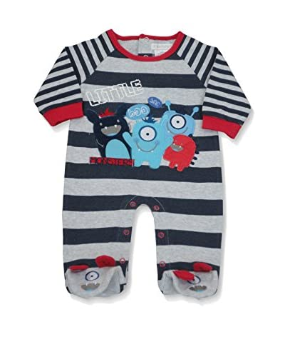 Pitter Patter Baby Gifts Body [Rosso/Blu Navy/Bianco]