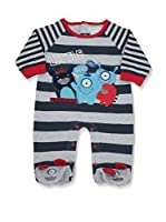 Pitter Patter Baby Gifts Body (Rojo / Azul Marino / Blanco)