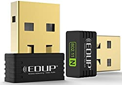 EDUP N8553 Mini Wireless Wi-Fi Nano USB Adapter Dongle WiFi Dongle Black