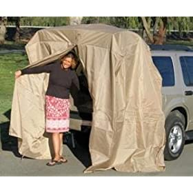 Portable Dressing Room SUV Tent Tailgating Shelter Add A Cabana