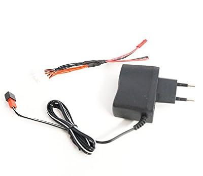 efaso Hubsan H107 X4 Ersatzteil: Ladekabel für 4 Akkus (inklusive Netzteil)