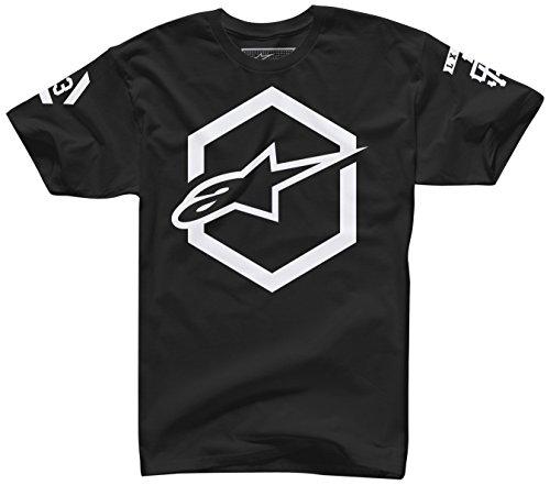 ALPINESTARS Men's Ajax T Shirt, Black, Large