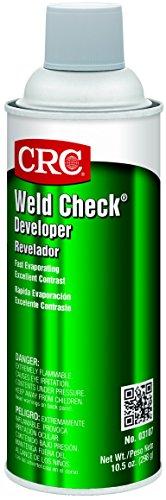 CRC Weld Check Developer, 10.5 oz Aerosol Can, White (Liquid Developer compare prices)