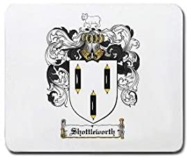 Shottleworth Family Shield / Coat of Arms Mouse Pad