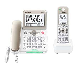 Pioneer デジタルコードレス電話機 子機1台付き 1.9GHz DECT準拠方式 TF-SA70S-N