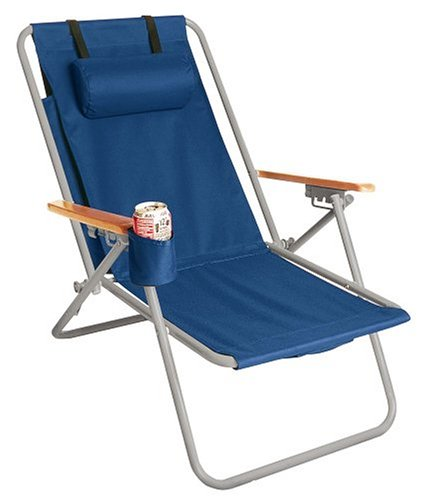 Backpack Beach Chair With Footrest to pin on