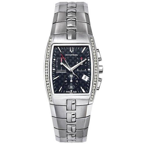 Accutron Men's 26E12 Lucerne Diamond Chronograph Watch