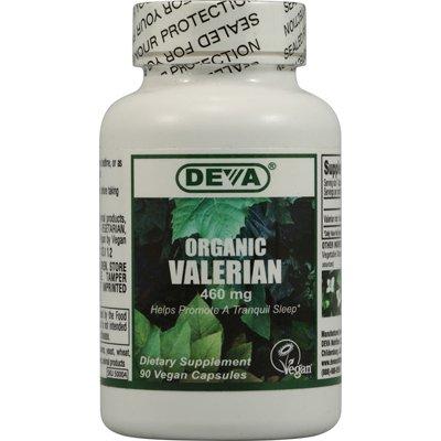 Deva Vegan Organic Valerian - 460 Mg - 90 Vegan Capsules