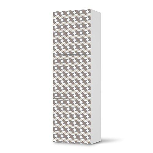 klebefolie sticker aufkleber f r ikea besta regal hochkant 3 t ren m bel berkleben. Black Bedroom Furniture Sets. Home Design Ideas