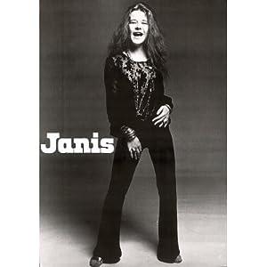 amazoncom 24x33 janis joplin black and white music