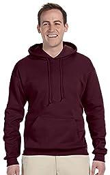 Jerzees 8 oz., 50/50 NuBlend® Fleece Pullover Hood M J NAVY