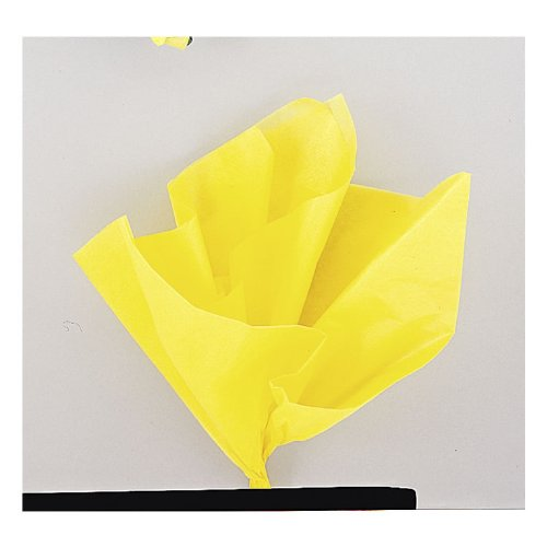 sheets-yellow-pk10-assorted-colour-tissue-for-party-decorations-accessories-etc