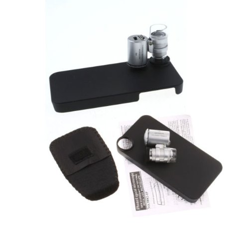 Sale No Way!!! Mini 60X Zoom Magnify Microscope Micro Lens With Led Light Iphone 4 Uk Shipping