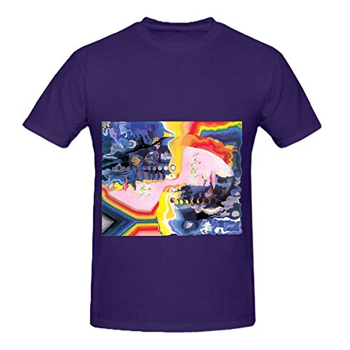 The Moody Blues Days Of Future Passed Jazz Men Crew Neck Big Tall Tee Purple (Fraggle Harness compare prices)
