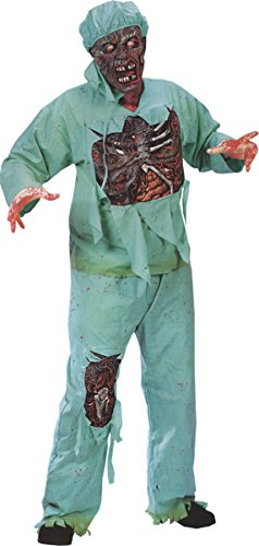 Fun World Costumes Zombie Doctor Adult Standard