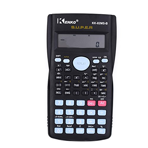 Calculator, CloudWave Scientific Calculator 240 Function Scientific Business Office School Pocket Calculator (Ti 30xs Pink compare prices)