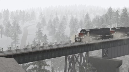 Train Simulator 2014 - Donner Pass: Southern Pacific Route Add-On Steam Code screenshot