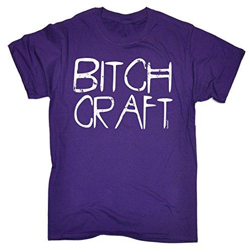 123t Slogans -  T-shirt - Maniche corte  - Uomo Viola viola