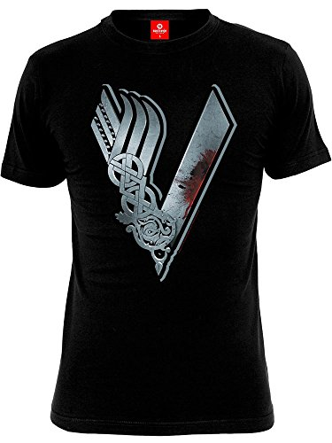 Vikings Logo T-Shirt nero L