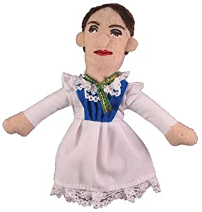 Emily Dickinson Magnetic Finger Puppet